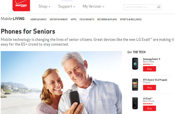 Verizon Landline Phone Plans For Seniors